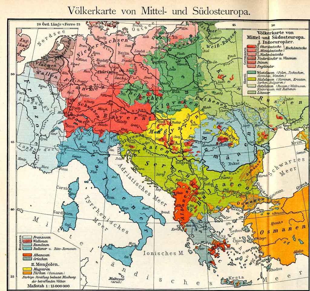 Geografski Atlas Evrope